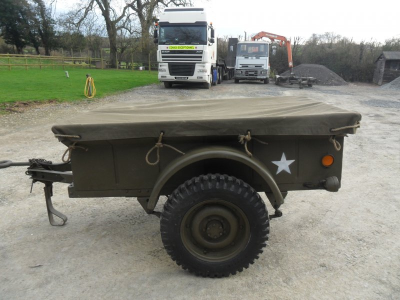 Off Road Jeep >> Jeep Trailer 1943 Bantam Trailer